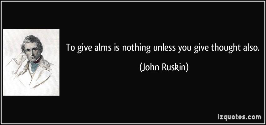 Alms quote #1