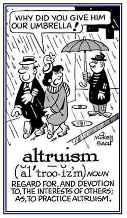 Altruism quote #2