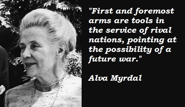 Alva Myrdal's quote #4