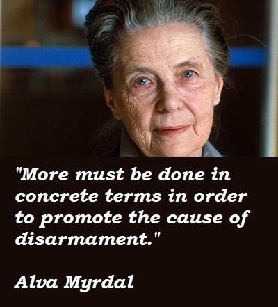 Alva Myrdal's quote #5