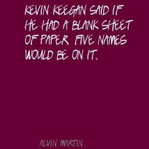 Alvin Martin's quote #1