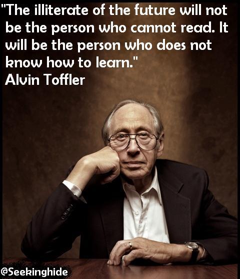 Alvin Toffler's quote #2