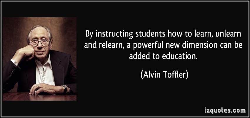 Alvin Toffler's quote #5