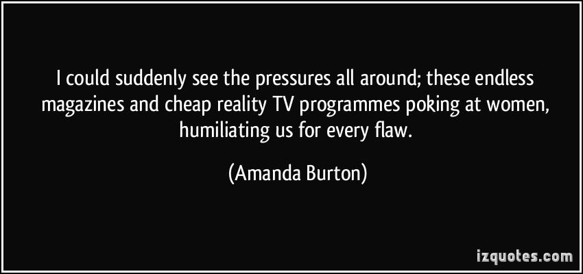 Amanda Burton's quote #4