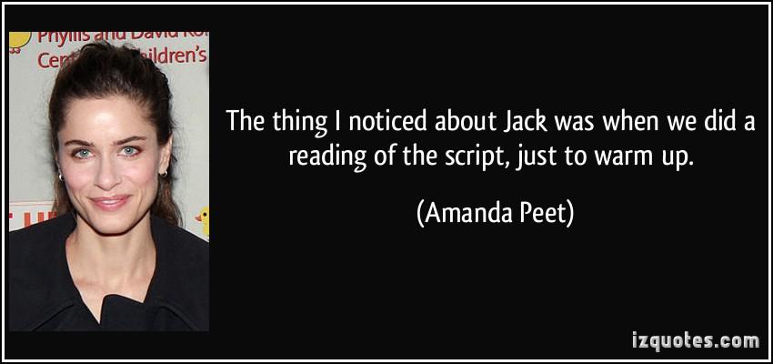 Amanda Peet's quote #1