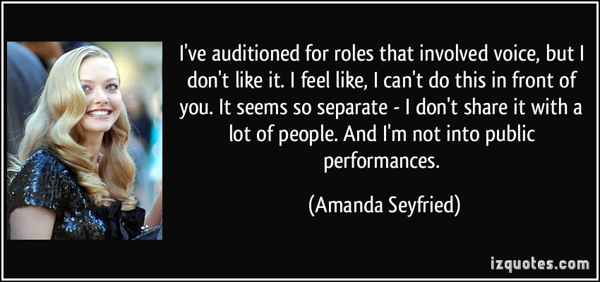 Amanda Seyfried's quote #8