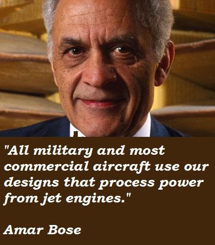 Amar Bose's quote #6