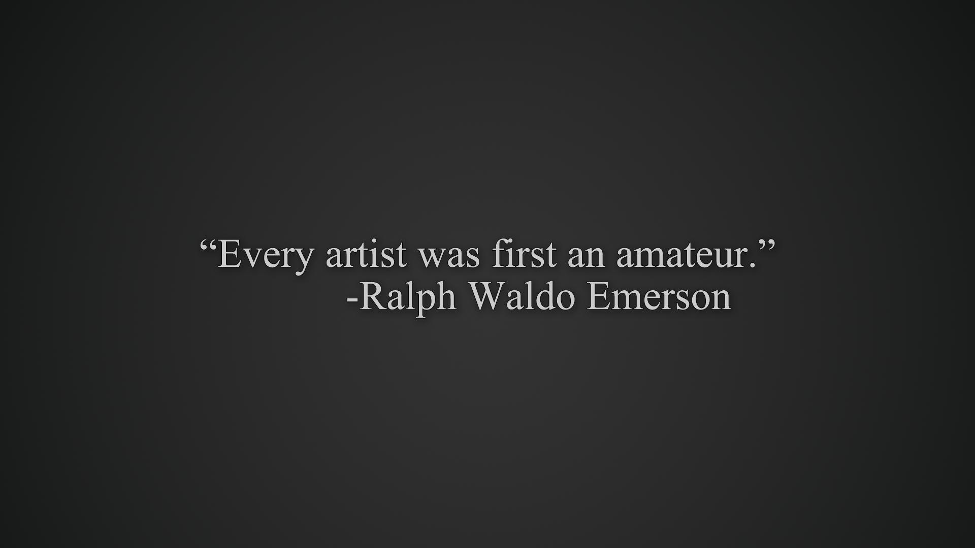 Amateur quote #6