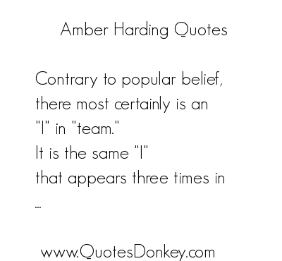 Amber quote #1