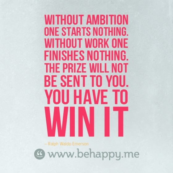 Ambition quote #2