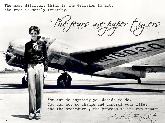 Amelia Earhart's quote #1