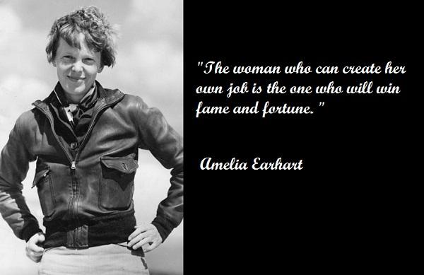 Amelia Earhart's quote #7