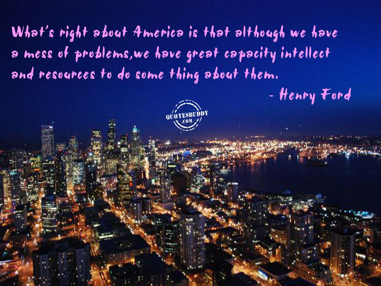 America quote #1