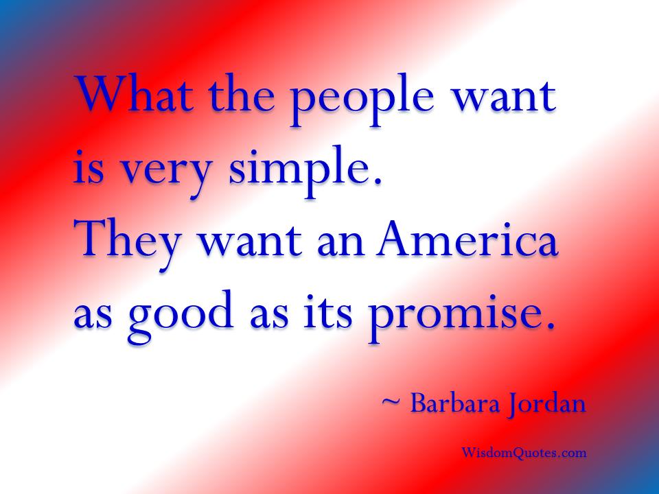 America quote #3