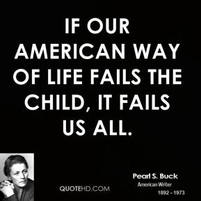 American Way quote
