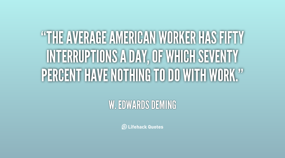 American Worker quote
