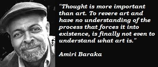 Amiri Baraka's quote #4