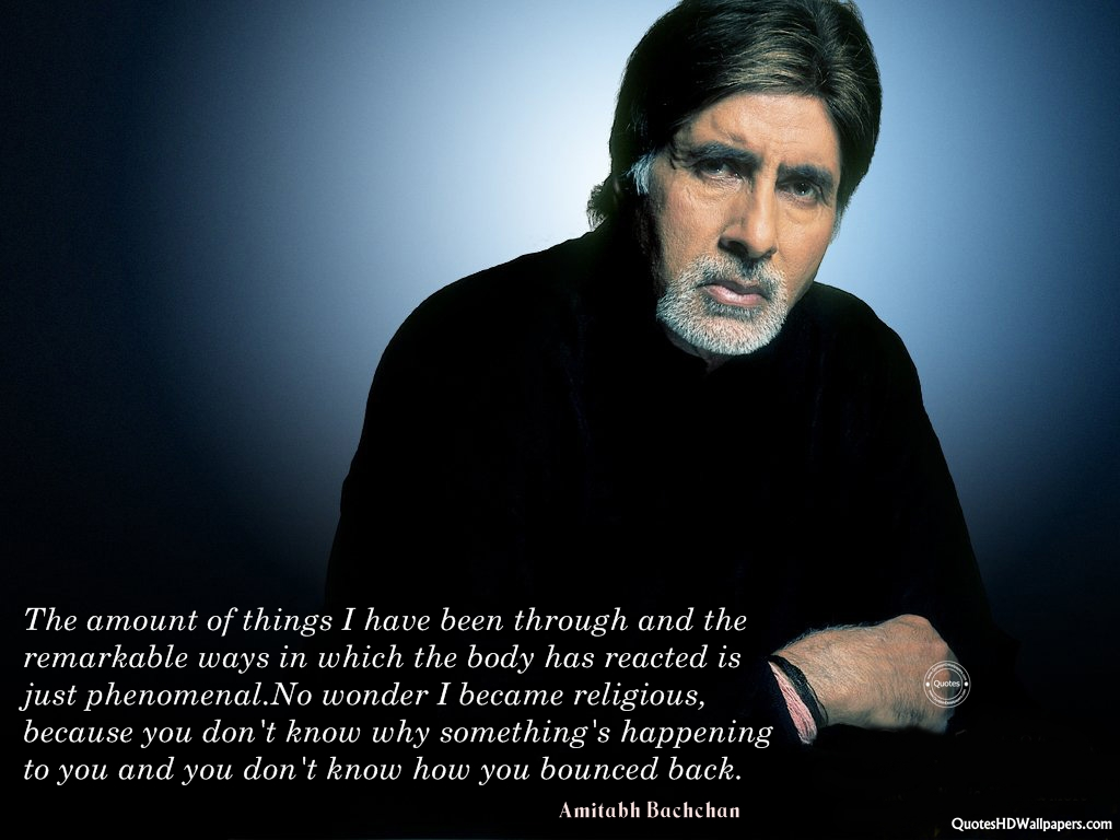 Amitabh Bachchan's quote #2
