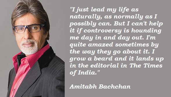 Amitabh Bachchan's quote #8