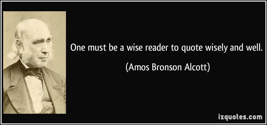Amos Bronson Alcott's quote #4