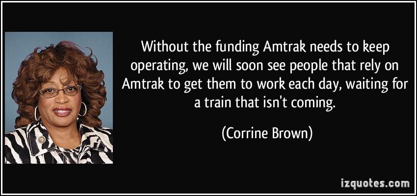 Amtrak quote #1