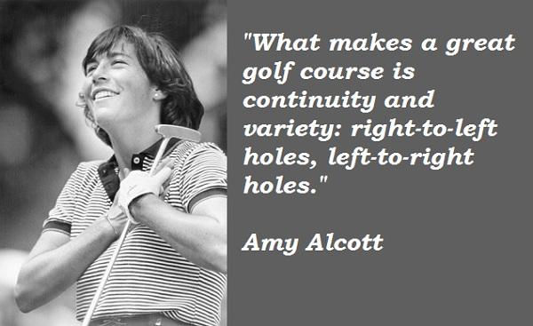 Amy Alcott's quote #2