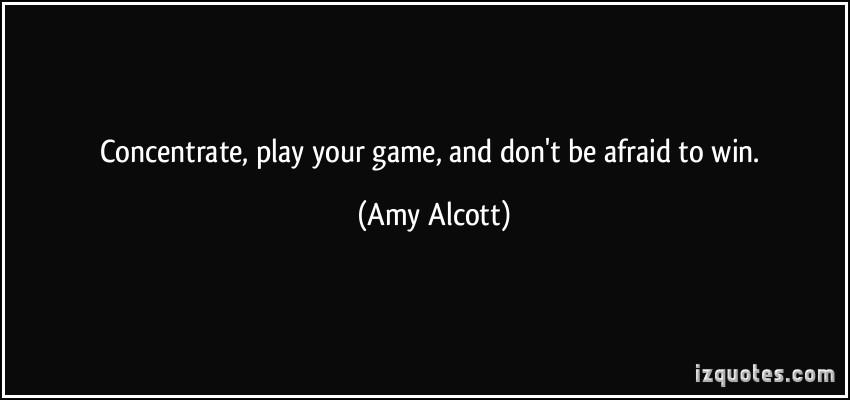 Amy Alcott's quote