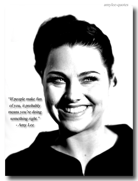 Amy Lee's quote #3