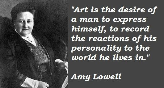 Amy Lowell's quote #6
