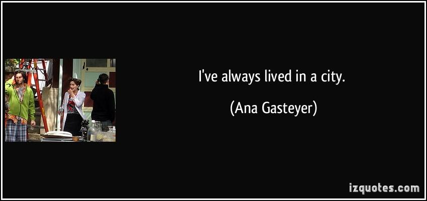 Ana Gasteyer's quote #1