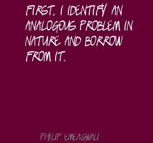 Analogous quote #1