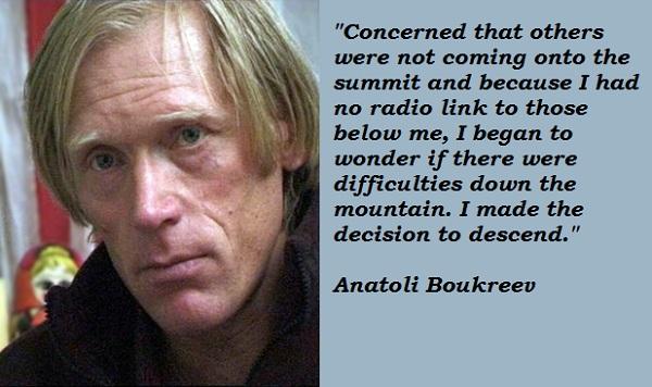 Anatoli Boukreev's quote #6