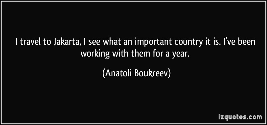 Anatoli Boukreev's quote #7