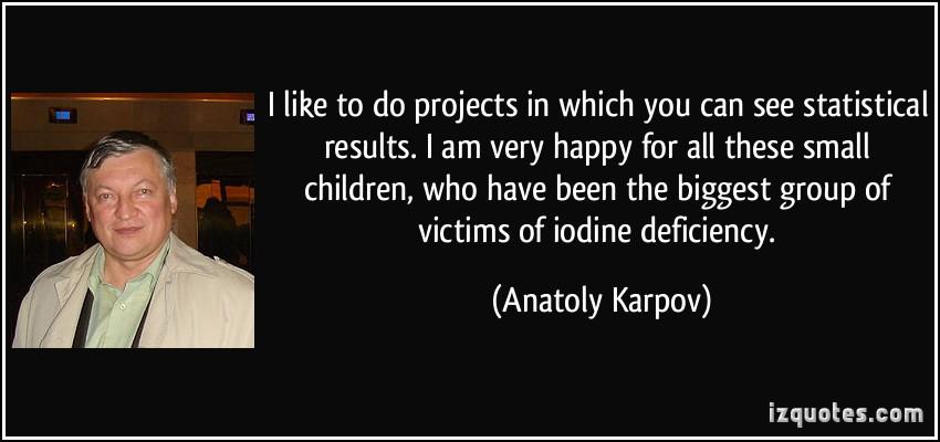 Anatoly Karpov's quote #7