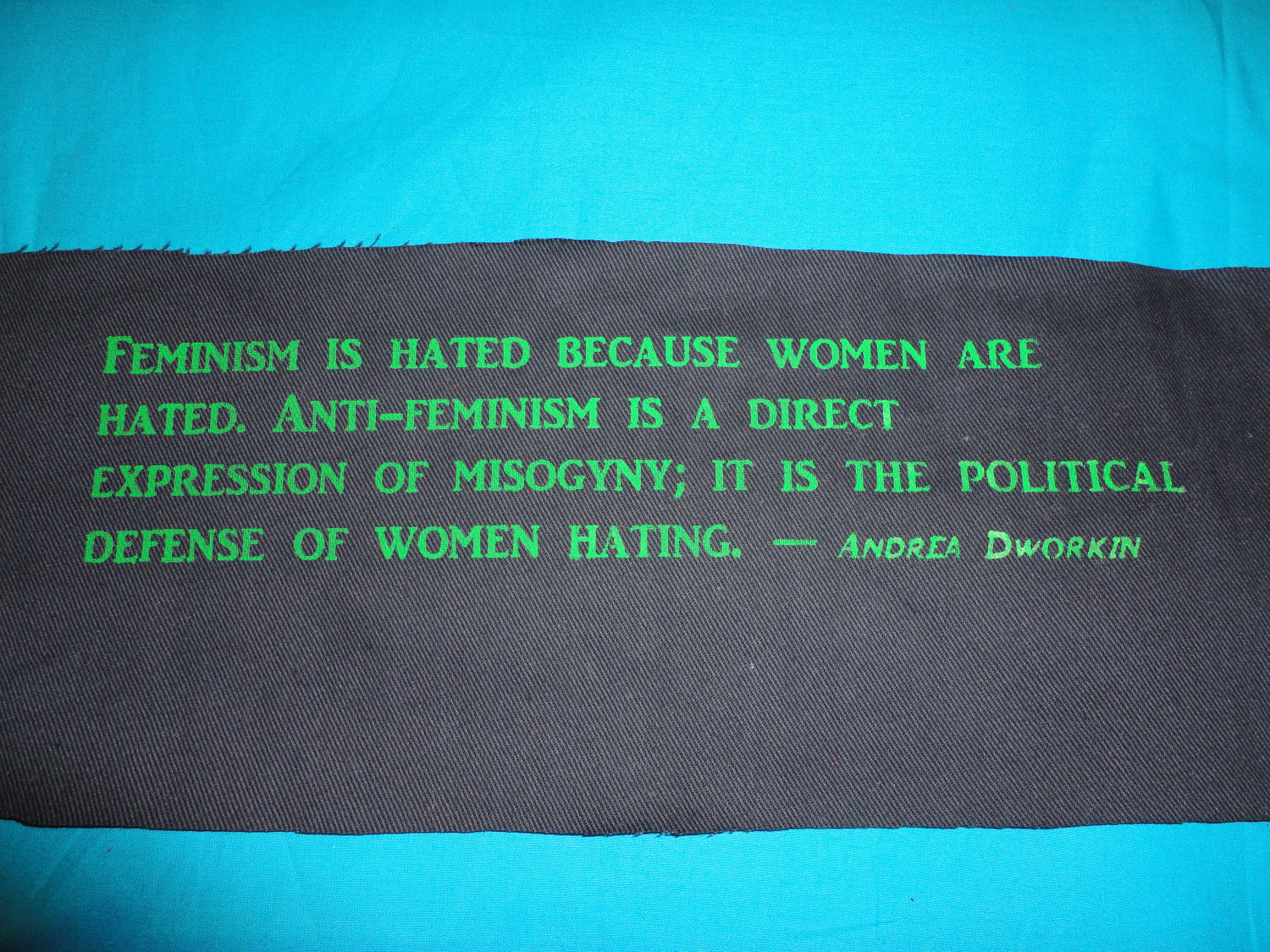 Andrea Dworkin's quote #3