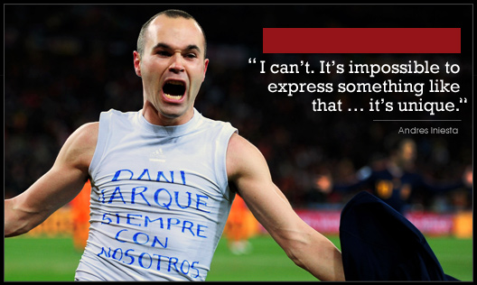 Andres Iniesta's quote #2