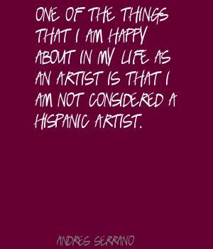 Andres Serrano's quote #5