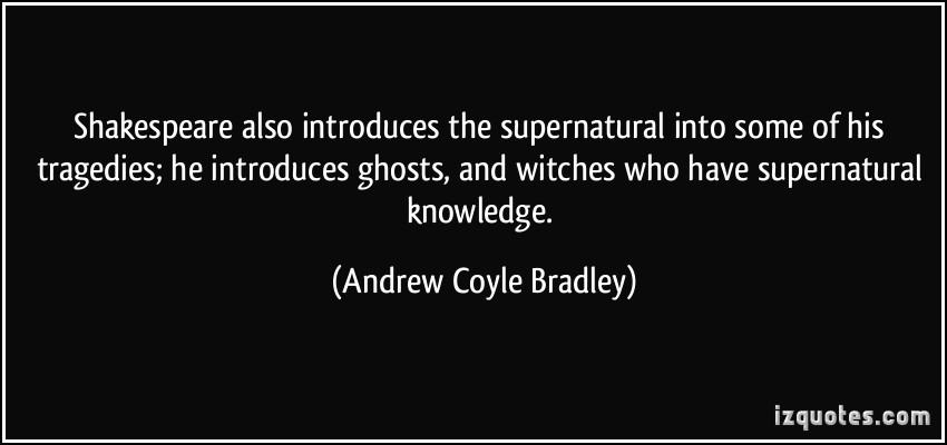 Andrew Coyle Bradley's quote #1
