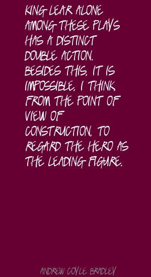 Andrew Coyle Bradley's quote #2