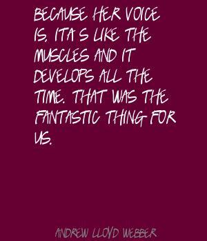 Andrew Lloyd Webber's quote #2