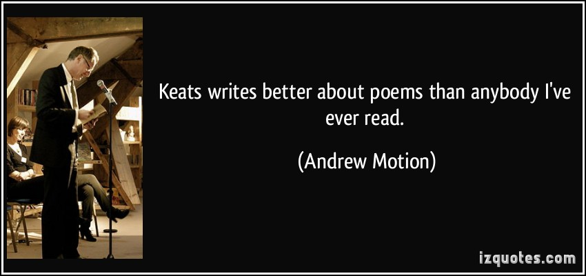 Andrew Motion's quote #8