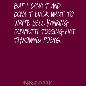 Andrew Motion's quote #7