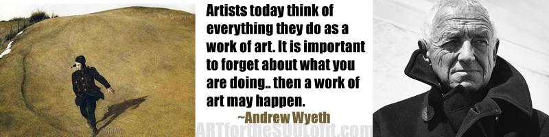 Andrew Wyeth's quote #1