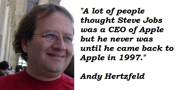 Andy Hertzfeld's quote #3