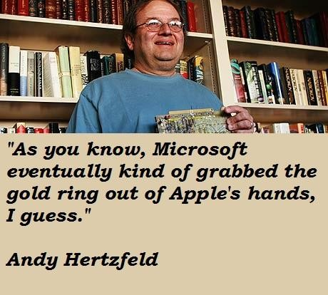 Andy Hertzfeld's quote #2