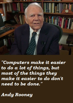 Andy Rooney's quote #6