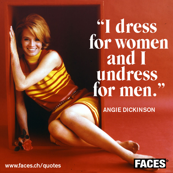 Angie Dickinson's quote #4