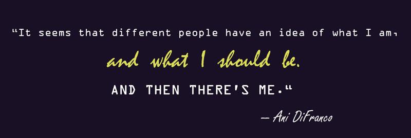 Ani DiFranco's quote #4
