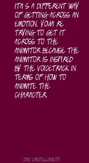 Animator quote #1