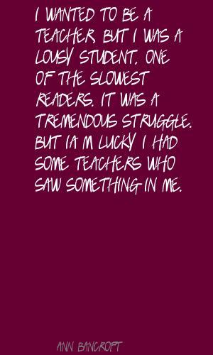 Ann Bancroft's quote #7